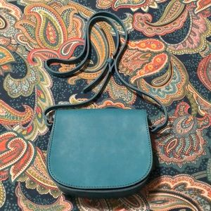 Urban Outfitters Vegan Leather Saddle Bag
